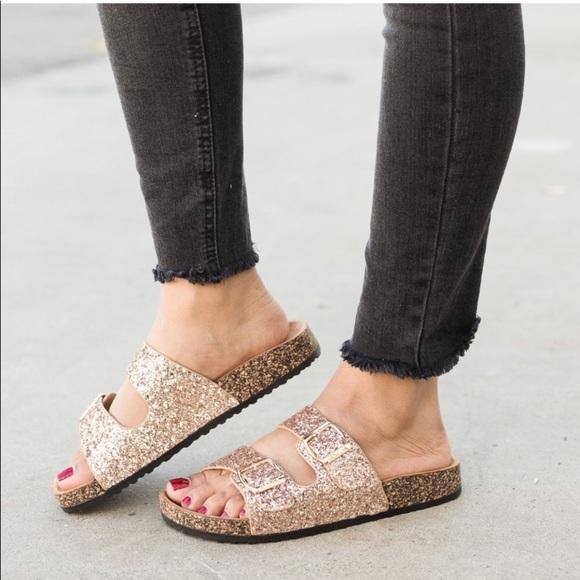 c5d1791bcda Glitter sandals